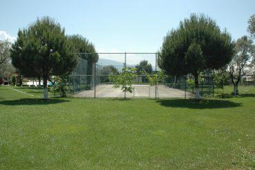 Tenis kortu, Basket sahası